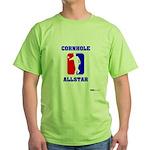 Cornhole Allstar II Green T-Shirt