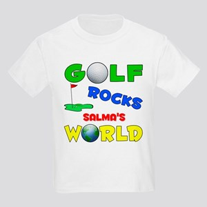 Golf Rocks Salma's World - Kids Light T-Shirt