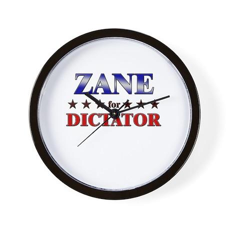 ZANE for dictator Wall Clock