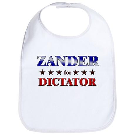 ZANDER for dictator Bib