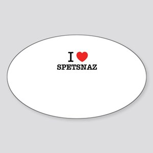 I Love SPETSNAZ Sticker