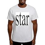 296f. star Ash Grey T-Shirt