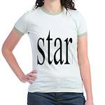 296f. star Jr. Ringer T-Shirt