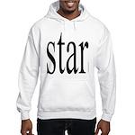 296f. star Hooded Sweatshirt