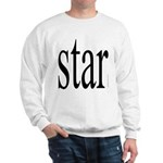 296f. star Sweatshirt