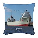 Paul H. Townsend Woven Throw Pillow