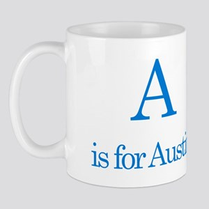 A is for Austin Mug