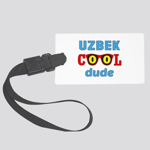 Uzbek Cool Dude Large Luggage Tag