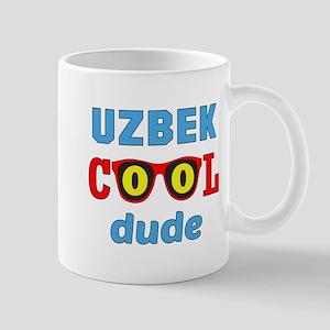 Uzbek Cool Dude 11 oz Ceramic Mug