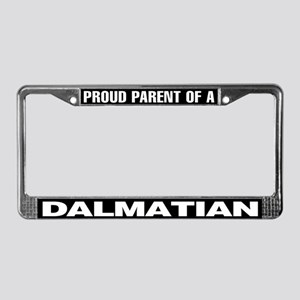 Proud Parent of a Dalmatian License Plate Frame