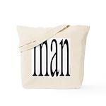 296. man Tote Bag