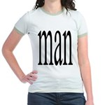 296. man Jr. Ringer T-Shirt