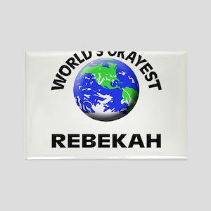 World's Okayest Rebekah Magnets