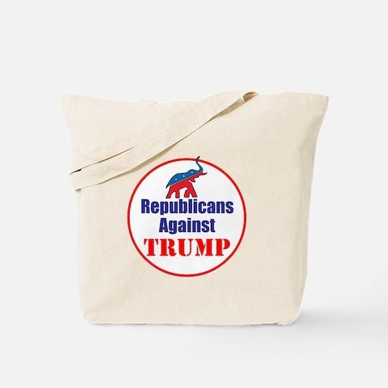 Republicans against Donald Trump Tote Bag