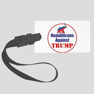 Republicans against Donald Trump Luggage Tag