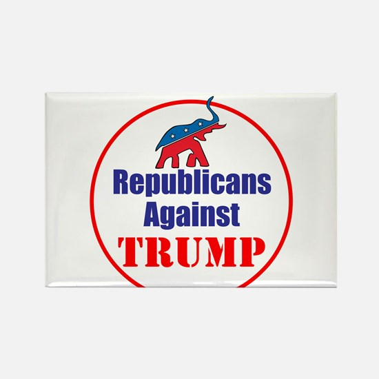 Republicans against Donald Trump Magnets