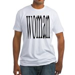 296b. woman Fitted T-Shirt