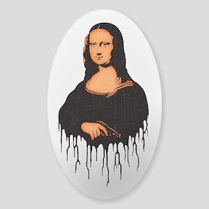 Mona Pistol Sticker (Oval)