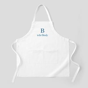 B is for Brady BBQ Apron