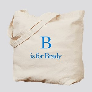 B is for Brady Tote Bag