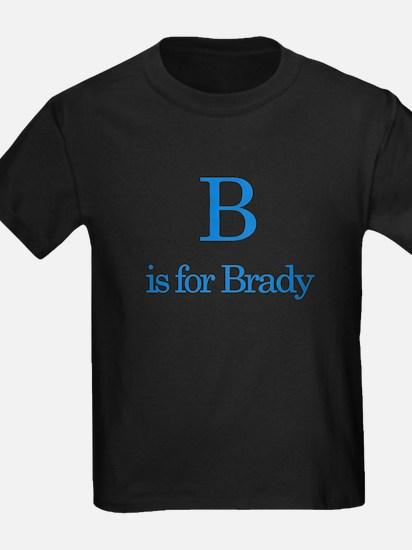 B is for Brady T