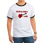 Little Brothers Rock! red gui Ringer T