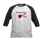 Little Brothers Rock! red gui Kids Baseball Jersey