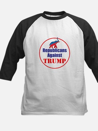 Republicans against Donald Trump Baseball Jersey