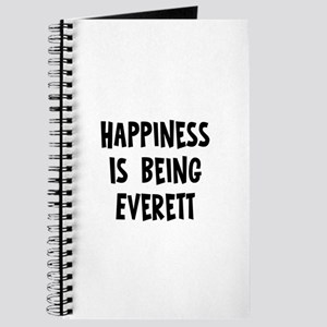 Happiness is being Everett Journal