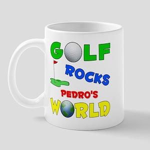 Golf Rocks Pedro's World - Mug