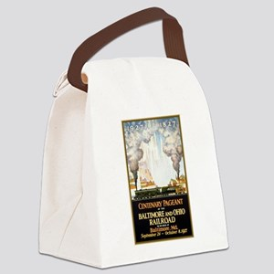 Baltimore and Ohio Railroad Canvas Lunch Bag