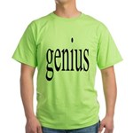 294d. genius Green T-Shirt