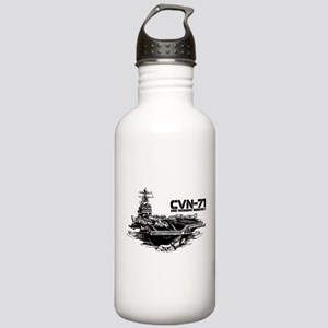 Aircraft carrier Theodore Roosevelt Water Bottle