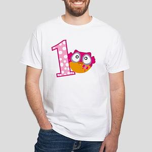 Cute Pink Owl T-Shirt