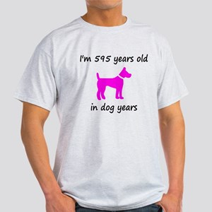85 Dog Years Hot Pink Dog 1 T-Shirt