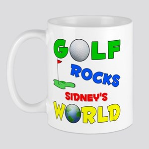 Golf Rocks Sidney's World - Mug