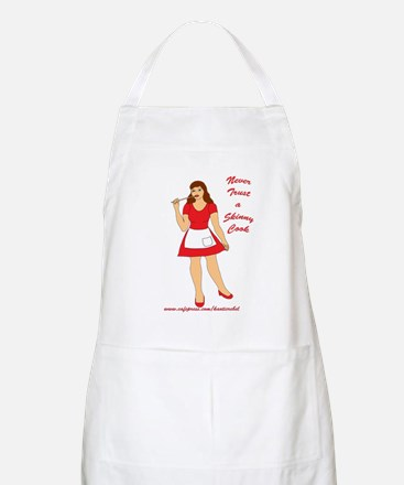 Never Trust a Skinny Cook BBQ/Cooking/Baking Apron