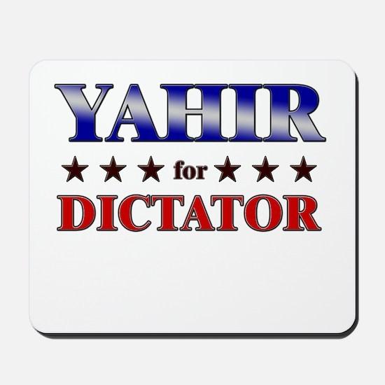 YAHIR for dictator Mousepad