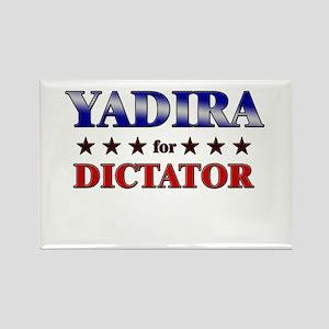 YADIRA for dictator Rectangle Magnet