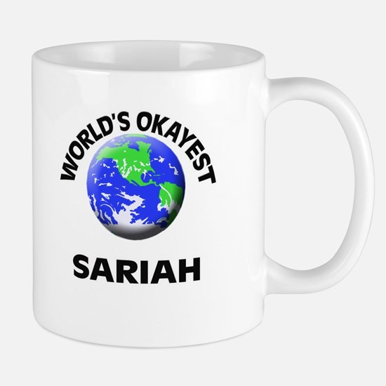 World's Okayest Sariah Mugs