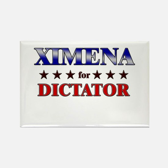 XIMENA for dictator Rectangle Magnet