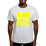 294c2. brilliance Ash Grey T-Shirt