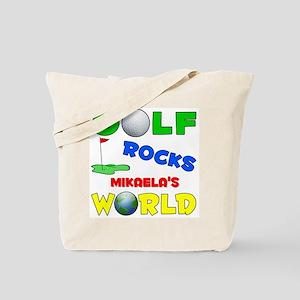 Golf Rocks Mikaela's World - Tote Bag
