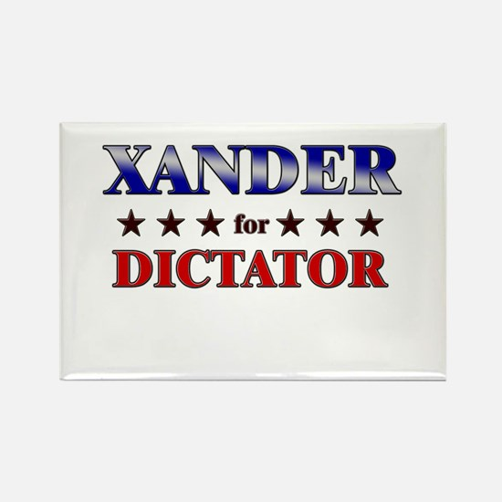 XANDER for dictator Rectangle Magnet