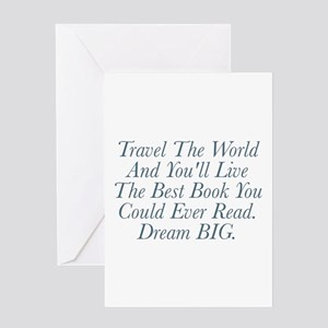Live The Best Book Greeting Cards