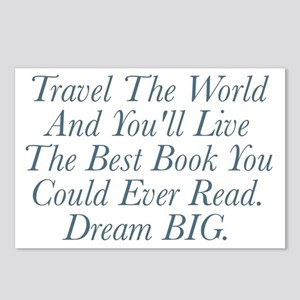 Live The Best Book Postcards (Package of 8)