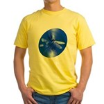 Blue Dragonfly Yellow T-Shirt
