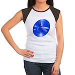 Blue Dragonfly Women's Cap Sleeve T-Shirt