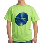 Blue Dragonfly Green T-Shirt