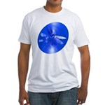 Blue Dragonfly Fitted T-Shirt